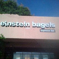 Photo taken at Einstein Bros Bagels by Nuning  i. on 3/26/2013