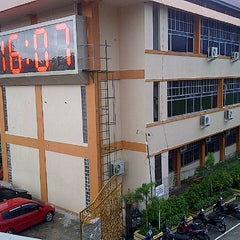 "Photo taken at Universitas Putra Indonesia ""YPTK"" by Ressa P. on 12/20/2012"
