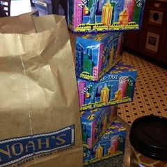 Photo taken at Noah's New York Bagels by Mary Rose P. on 11/16/2013