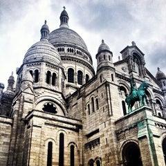 Photo taken at Basilique du Sacré-Cœur de Montmartre by Cory C. on 6/23/2013