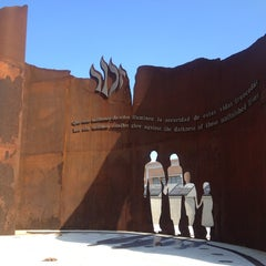 Photo taken at Holocaust Memorial Monument by Schadell on 3/28/2013