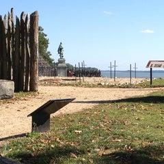 Photo taken at Historic Jamestowne by Michael H. on 10/10/2012