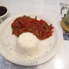 Photo taken at Cuban Corner by Drew on 1/7/2015