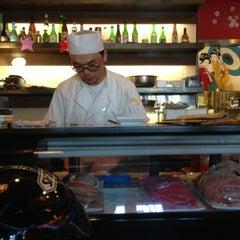 Photo taken at Crazy Rock'N Sushi by Ryan S. on 10/14/2012