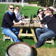 Photo taken at Nepenthe Wines by AMBLER on 4/13/2014