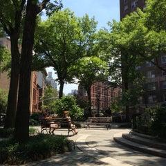 Photo taken at Jackson Square by Tom M. on 6/16/2015