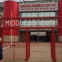 Photo taken at Riverside Stadium by Will B. on 8/8/2013