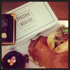 Photo taken at Épicerie Boulud by Gareth T. on 4/3/2013