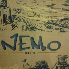 Photo taken at Nemo Sushi by Thatiane M. on 11/24/2012