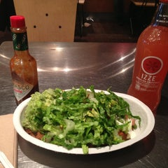 Photo taken at Chipotle Mexican Grill by Amy Pan Pan W. on 1/18/2013