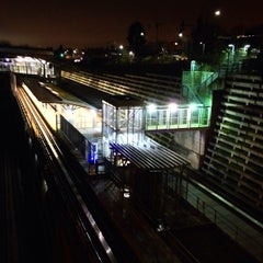Photo taken at Commercial - Broadway SkyTrain Station by Faruk A. on 2/3/2013