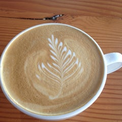 Photo taken at Fourth Wave Coffee by wendy w. on 9/22/2012
