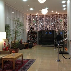 Photo taken at Clayton Hotel by Olivier D. on 1/3/2013