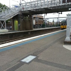 Photo taken at Homebush Station by Michael F. on 11/7/2012