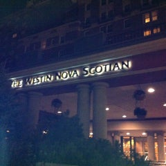 Photo taken at The Westin Nova Scotian by Simon S. on 9/26/2012