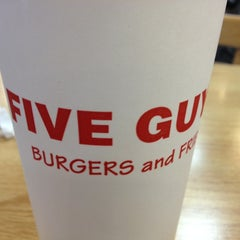 Photo taken at Five Guys by Kyle B. on 12/29/2012