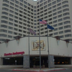 Photo taken at Sheraton Anchorage Hotel & Spa by Bob E. on 6/3/2013