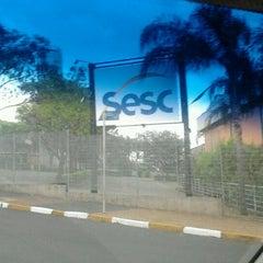 Photo taken at Sesc Araraquara by Rafael Z. on 9/20/2012