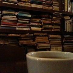 Photo taken at Tezgah Kitapevi Cafe Bar by Sena K. on 10/30/2012