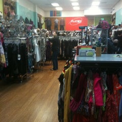 Photo taken at Plato's Closet San Mateo by Vicki M. on 9/27/2012