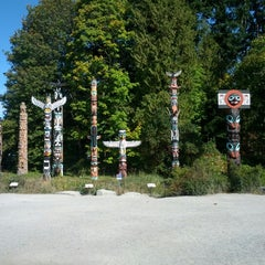 Photo taken at Stanley Park by Shauna S. on 9/30/2012