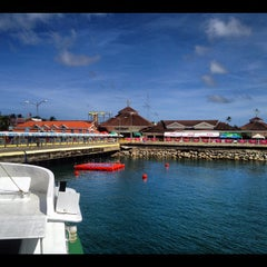 Photo taken at Caticlan Jetty Port & Passenger Terminal by Oobeth P. on 11/22/2012