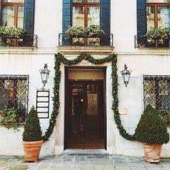 Photo taken at Ca' Sagredo Hotel Venice by Ksenia S. on 1/11/2015