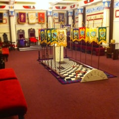 Photo taken at Liverpool Masonic Hall by Steve F. on 3/5/2013