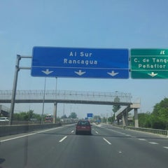 Photo taken at Autopista Central by João N. on 11/17/2012