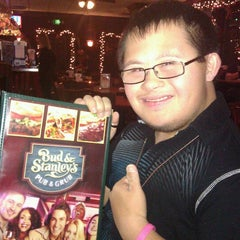 Photo taken at Bud & Stanley's Pub & Grub by Riza S. on 12/16/2012