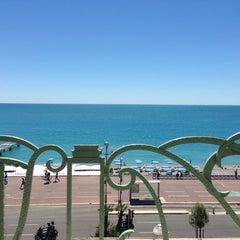 Photo taken at Hyatt Regency Nice Palais de la Mediterranee by Ashot G. on 5/23/2013