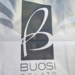 Photo taken at Buosi Gelato by Valeria B. on 9/16/2012