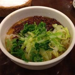 Photo taken at 刀削麺・火鍋 XI'AN ヨドバシAKIBA店 by hidea on 2/19/2013