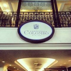 Photo taken at Confeitaria Colombo by Mário H. on 1/18/2013