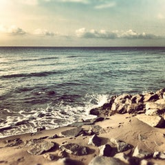 Photo taken at Platja del Prat by Rabasz ✪. on 9/22/2012