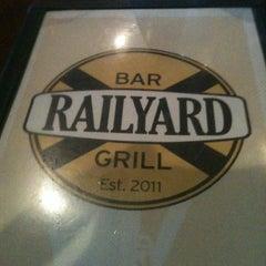 Photo taken at Railyard Bar & Grill by BK M. on 3/12/2014