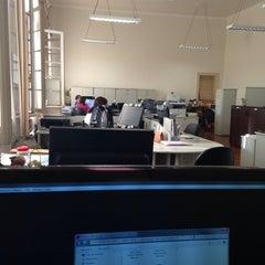 Photo taken at ESALQ/USP - Prédio Central by Fabiano P. on 9/9/2014