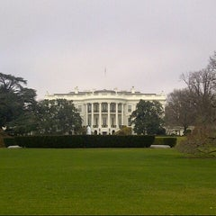 Photo taken at The White House Southeast Gate by Nanci S. on 12/8/2012