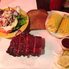 Photo taken at Ruby's BBQ by Lily F. on 3/11/2014