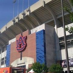 Photo taken at Jordan-Hare Stadium by Lindsey S. on 10/6/2012