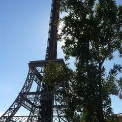 Photo taken at La Tour Eiffel by Pedro M. on 6/29/2013