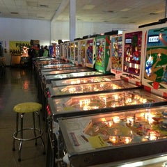 Photo taken at Pinball Hall of Fame by April T. on 2/20/2013