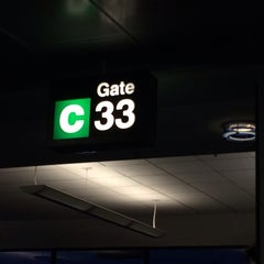 Photo taken at Gate C33 by Eric A. on 7/29/2014