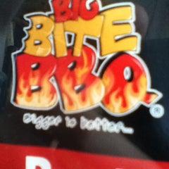Photo taken at Big Bite BBQ by Rodrigo C. on 1/20/2013