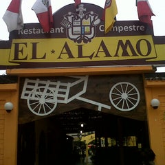 Photo taken at Restaurante Campestre El Alamo by H P. on 7/21/2013