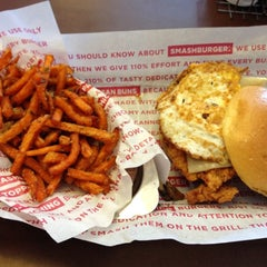 Photo taken at Smashburger by James S. on 10/5/2012