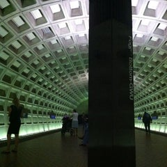 Photo taken at Foggy Bottom-GWU Metro Station by Dai L. on 5/10/2013