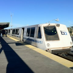 Photo taken at Bay Fair BART Station by Mark J. on 12/10/2012