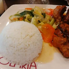 Photo taken at Solaria by Dwi A. on 4/15/2015