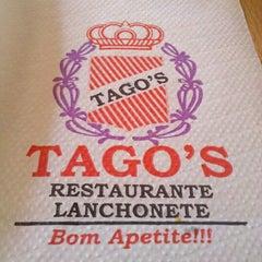 Photo taken at Tago's Restaurante e Lanchonete by Priscila S. on 1/18/2013